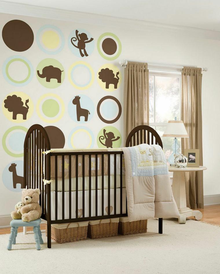 Stickers meuble chambre bébé