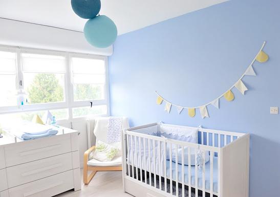 Deco bleu pour chambre bebe - Idées de tricot gratuit