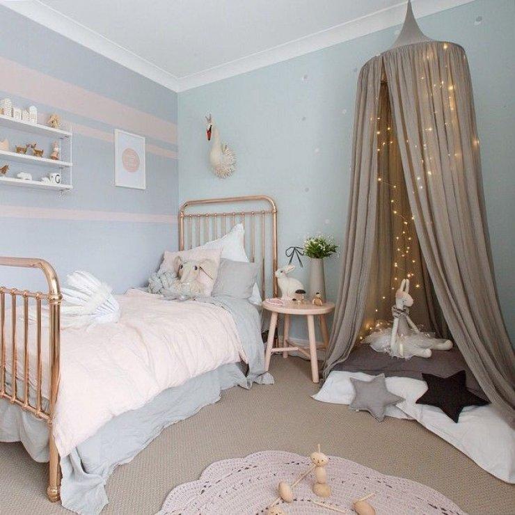 Chambre bebe fille bleu et rose - Idées de tricot gratuit