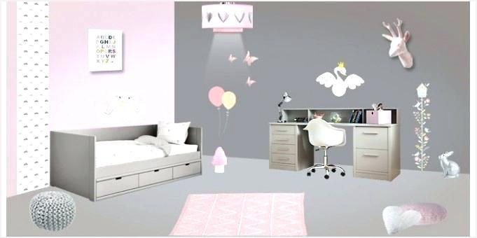 Deco chambre bebe fille gris et rose - Idées de tricot gratuit