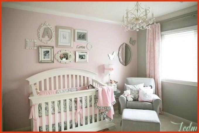 Décoration chambre bébé fille gris et rose - Idées de tricot gratuit