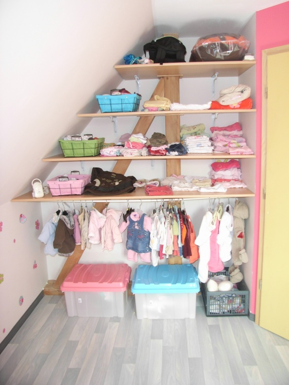 Deco chambre bebe mansardee - Idées de tricot gratuit