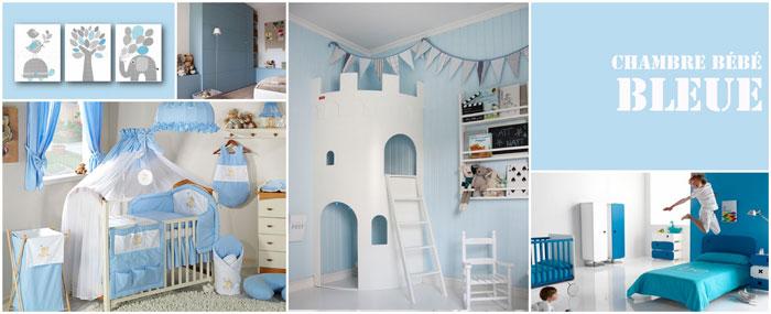 Superbe Chambre De Bebe Bleu Ciel