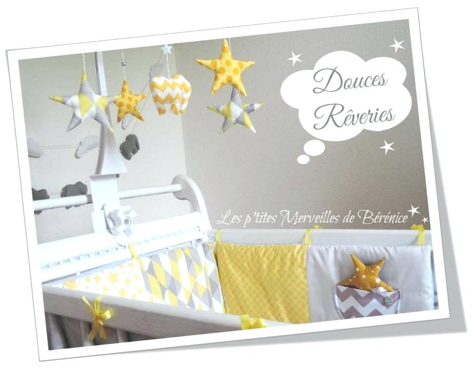 Deco chambre bebe jaune gris blanc - Idées de tricot gratuit