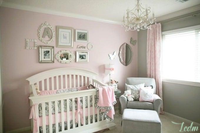 Chambre bebe style romantique - Idées de tricot gratuit