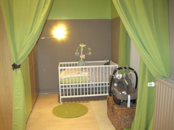 Chambre bebe verte et marron - Idées de tricot gratuit