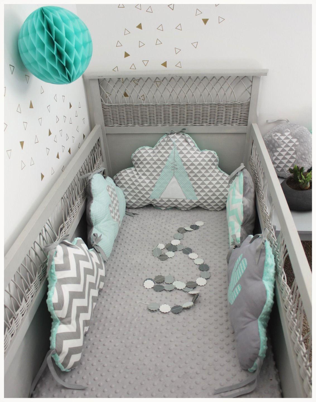 chambre bebe gris et vert deau id es de tricot gratuit. Black Bedroom Furniture Sets. Home Design Ideas