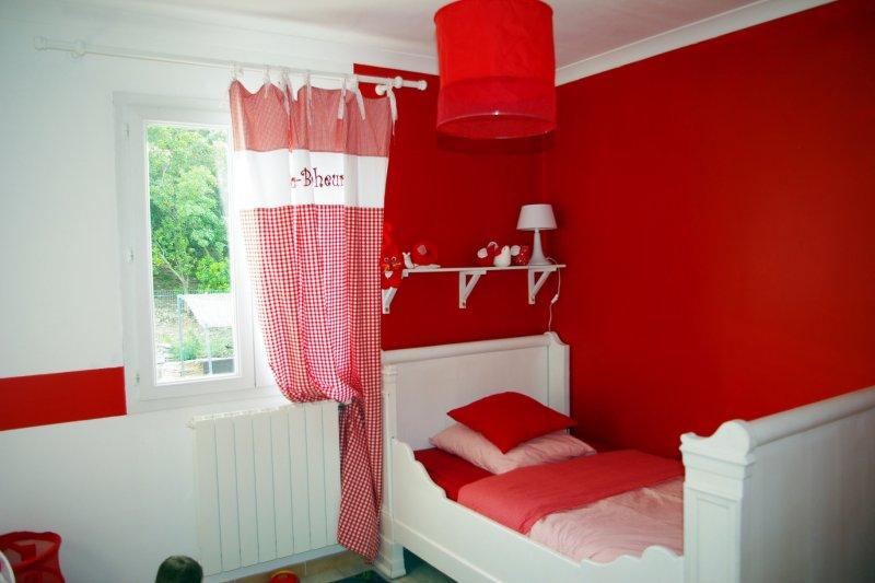 Deco chambre bebe garcon rouge - Idées de tricot gratuit
