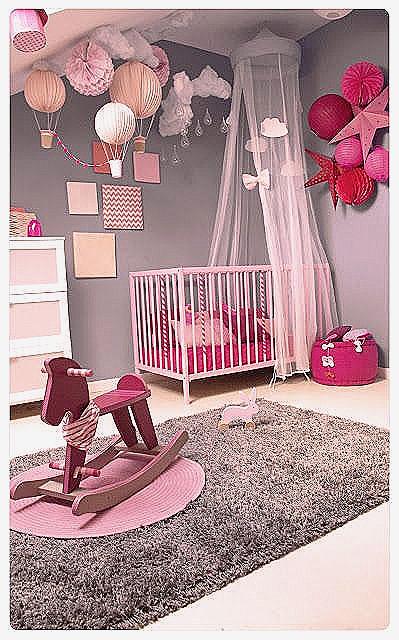 Deco Chambre Bebe Fille Rose Et Taupe Idees De Tricot Gratuit