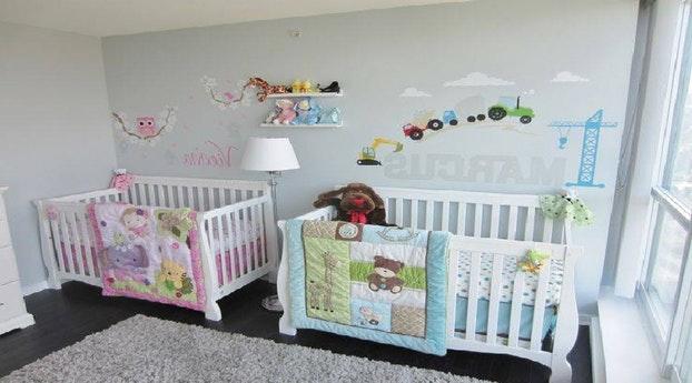 Decoration chambre jumeaux garcons - Idées de tricot gratuit