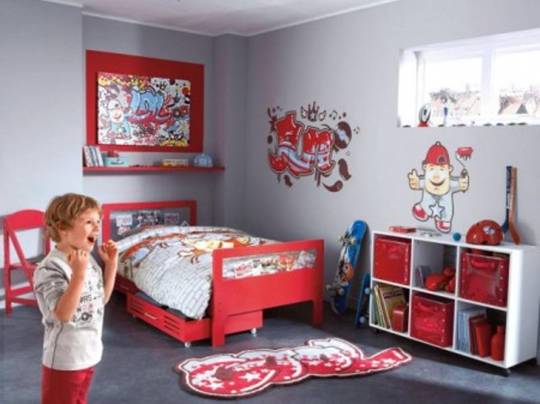 Emejing Modele Chambre Gris Et Rouge Ideas - House Design ...