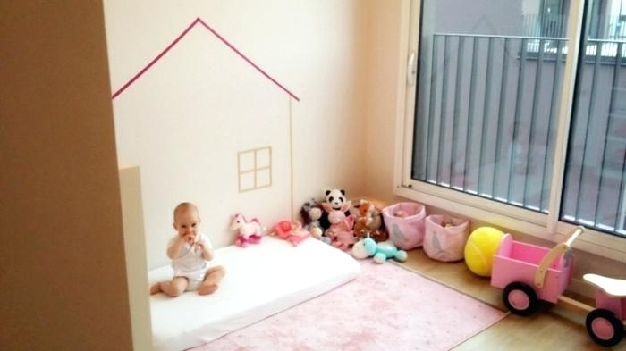 amenagement chambre bebe montessori id es de tricot gratuit. Black Bedroom Furniture Sets. Home Design Ideas