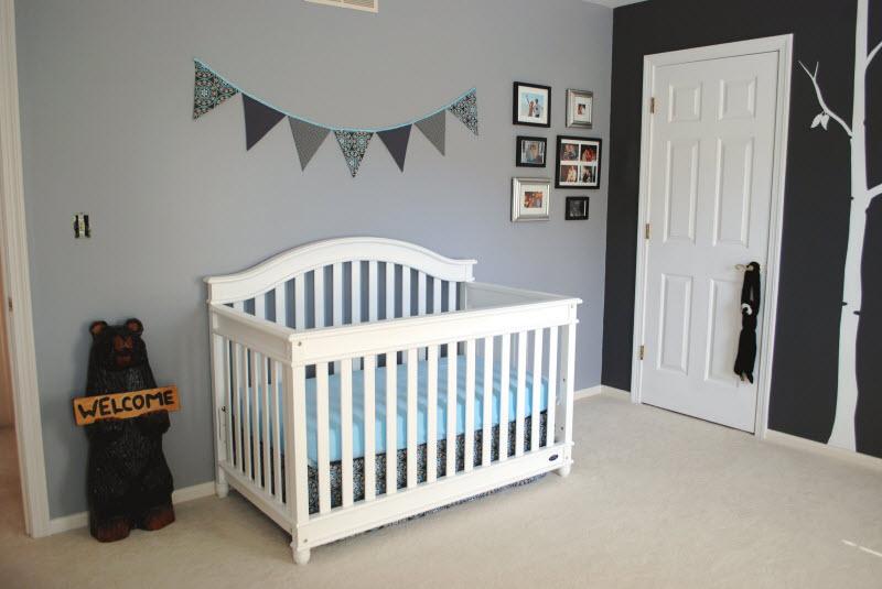 Decoration chambre bebe bleu gris - Idées de tricot gratuit