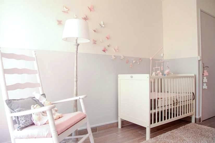 Deco chambre bebe rose poudré