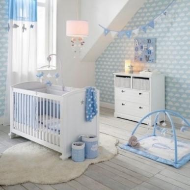 Décoration chambre bébé garçon bleu - Idées de tricot gratuit