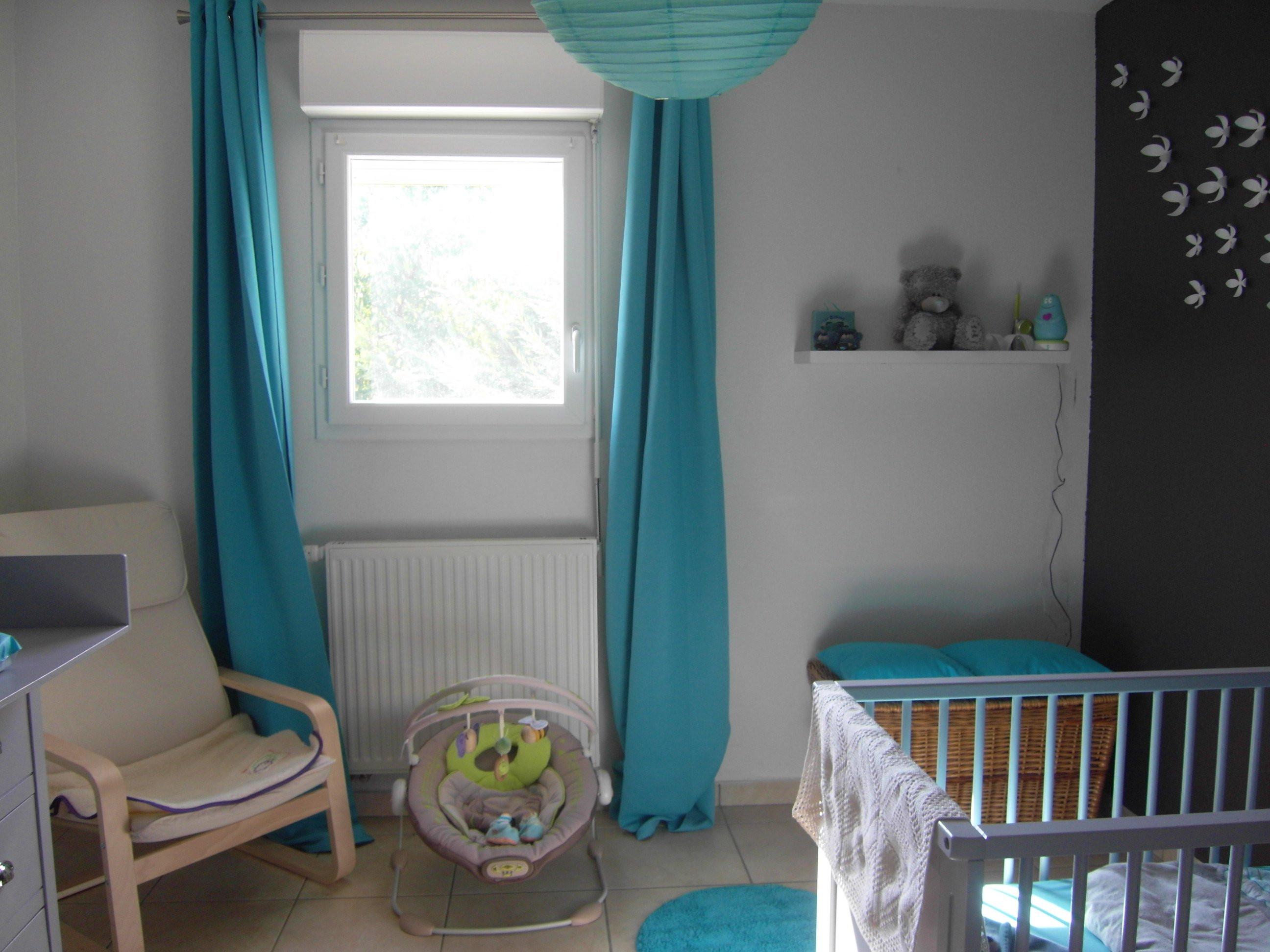 Deco chambre bebe turquoise gris - Idées de tricot gratuit