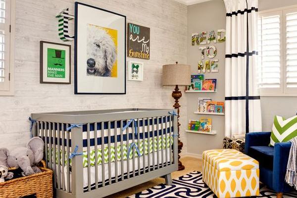 id e cr ation d co chambre b b id es de tricot gratuit. Black Bedroom Furniture Sets. Home Design Ideas