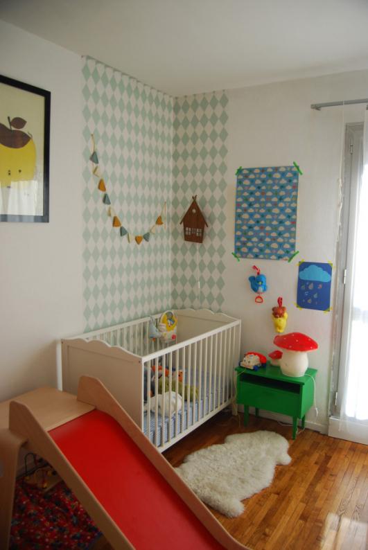 deco chambre bebe vintage id es de tricot gratuit. Black Bedroom Furniture Sets. Home Design Ideas