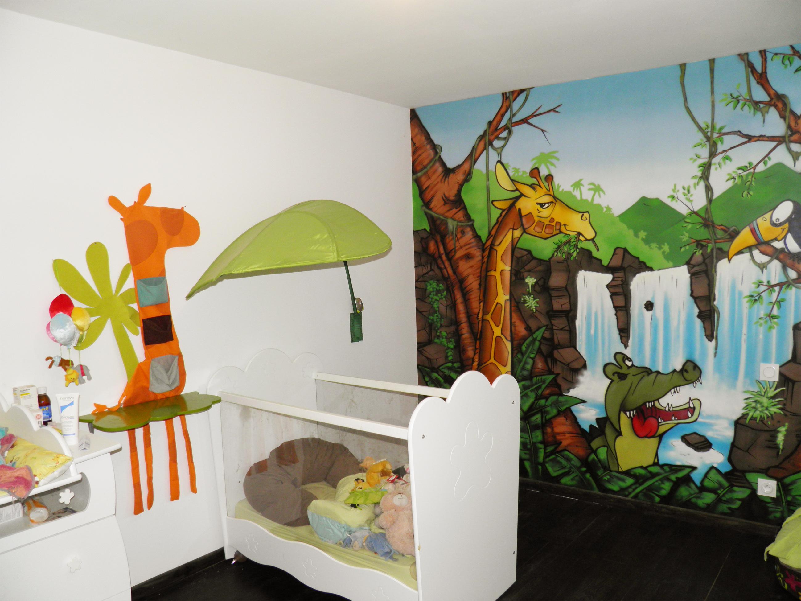 Accessoire chambre bebe jungle - Idées de tricot gratuit