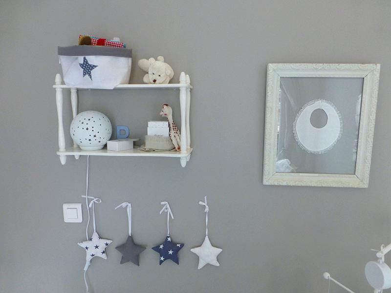 Déco murale chambre bébé fille
