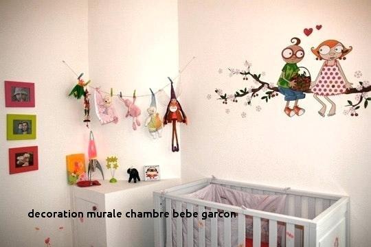 Decoration mur chambre bebe garcon
