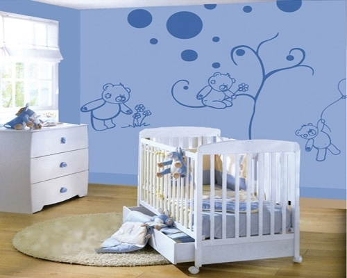 deco murale chambre de bebe id es de tricot gratuit. Black Bedroom Furniture Sets. Home Design Ideas