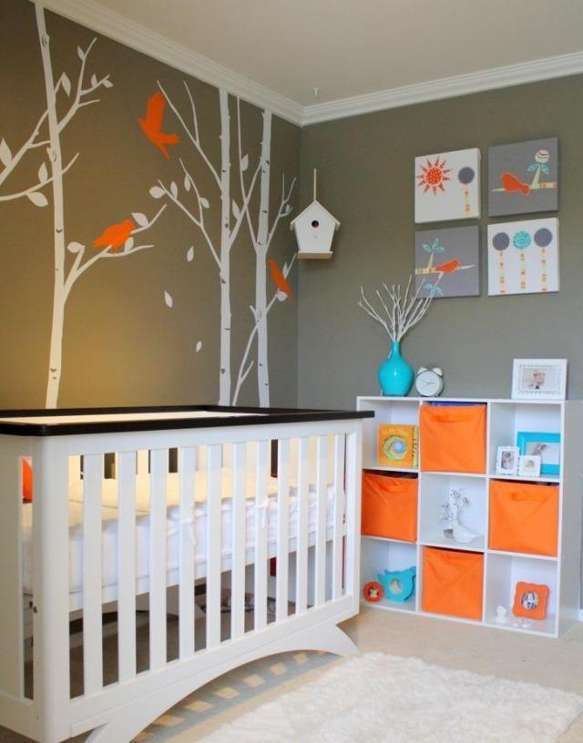Decoration chambre bebe bleu taupe - Idées de tricot gratuit