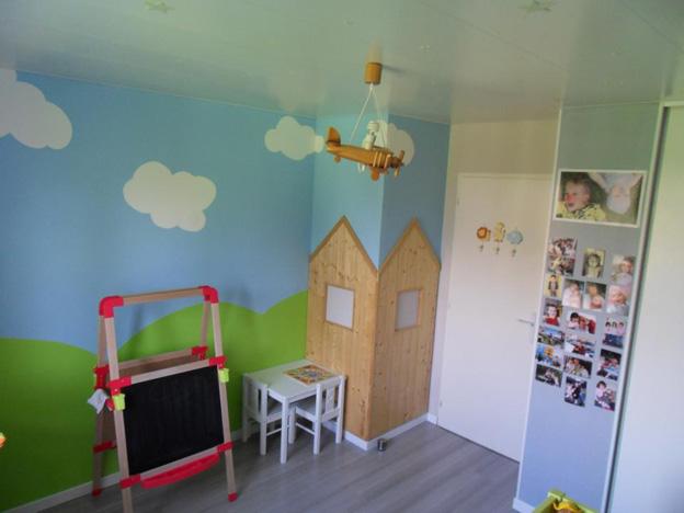 Decoration chambre bebe fille 2 ans