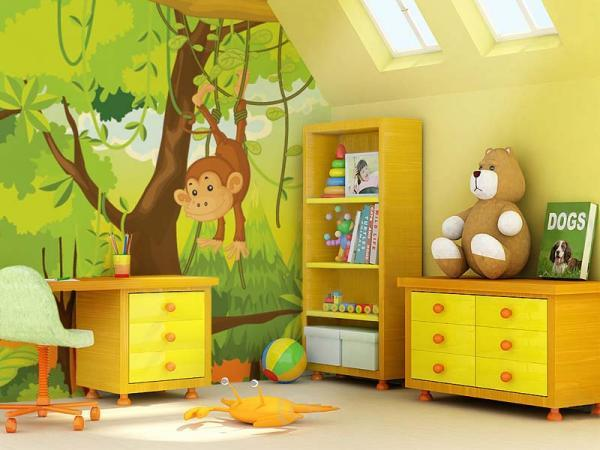Décoration chambre bébé safari - Idées de tricot gratuit