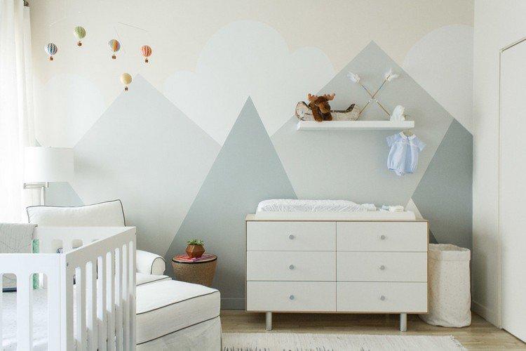 Peinture pour la chambre de bebe