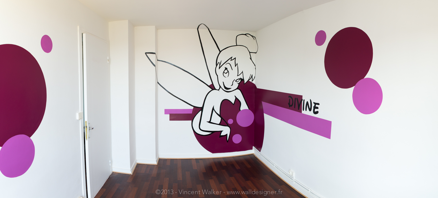 chambre bebe theme fee clochette id es de tricot gratuit. Black Bedroom Furniture Sets. Home Design Ideas