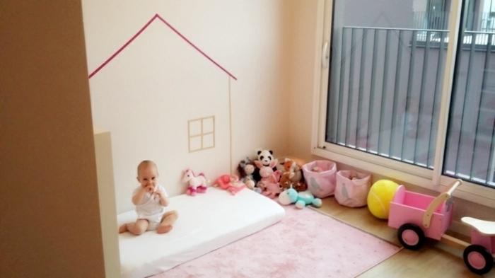 Chambre Montessori Bébé