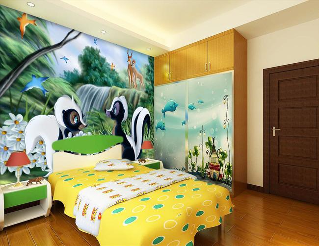 chambre b b 3d id es de tricot gratuit. Black Bedroom Furniture Sets. Home Design Ideas