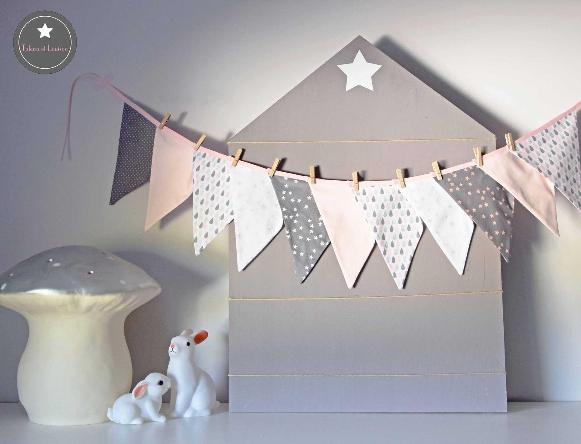 Fanion chambre bébé garcon - Idées de tricot gratuit