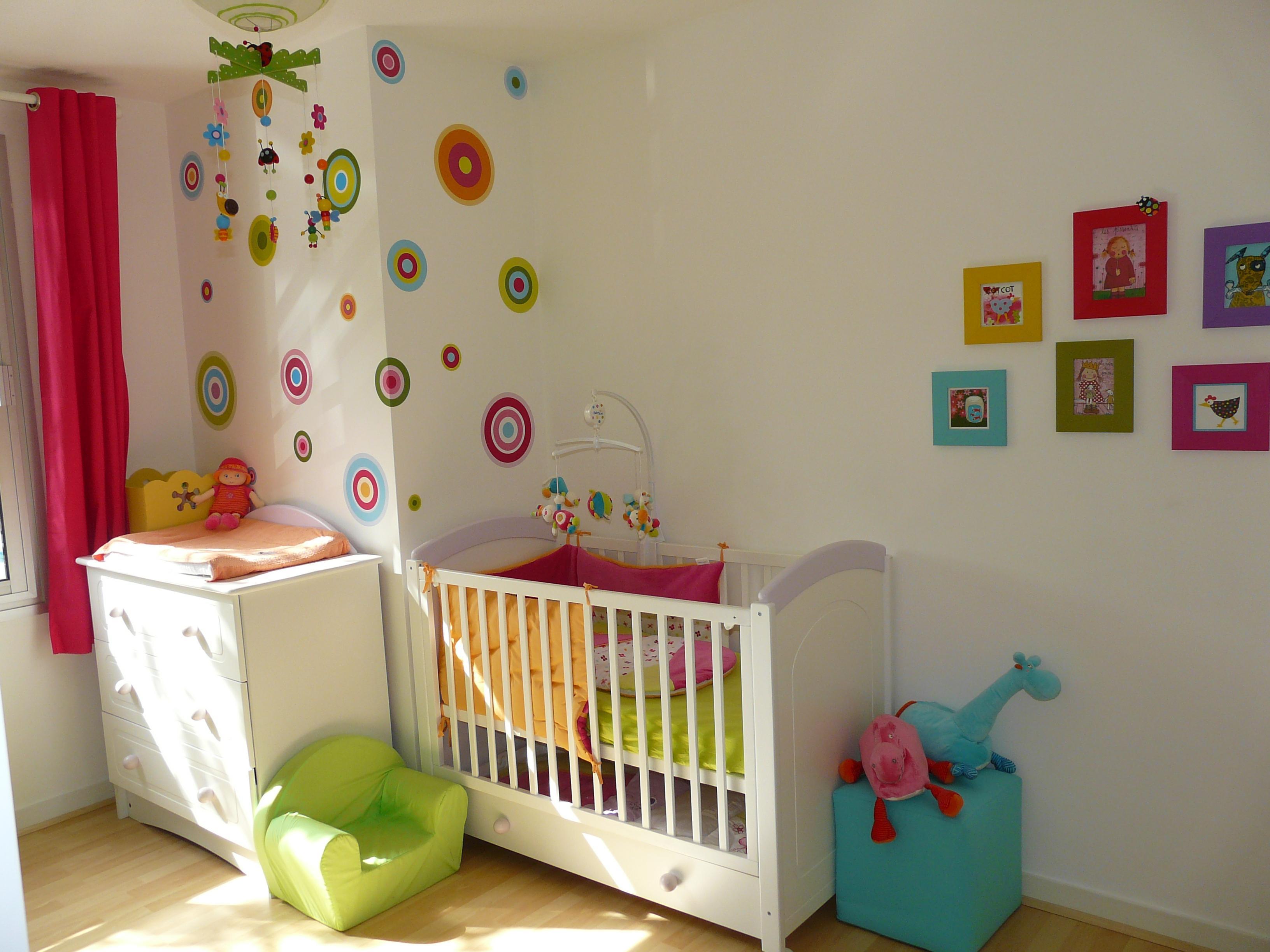 Modele peinture chambre bebe fille - Idées de tricot gratuit