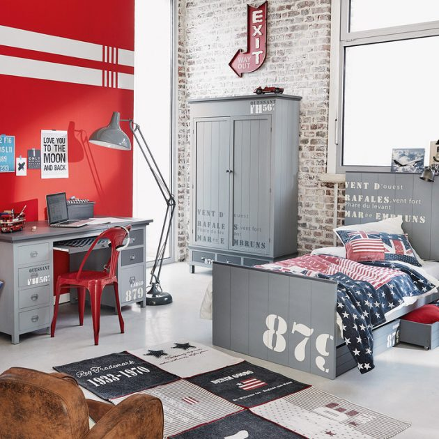 Idee Deco Chambre Bebe Rouge