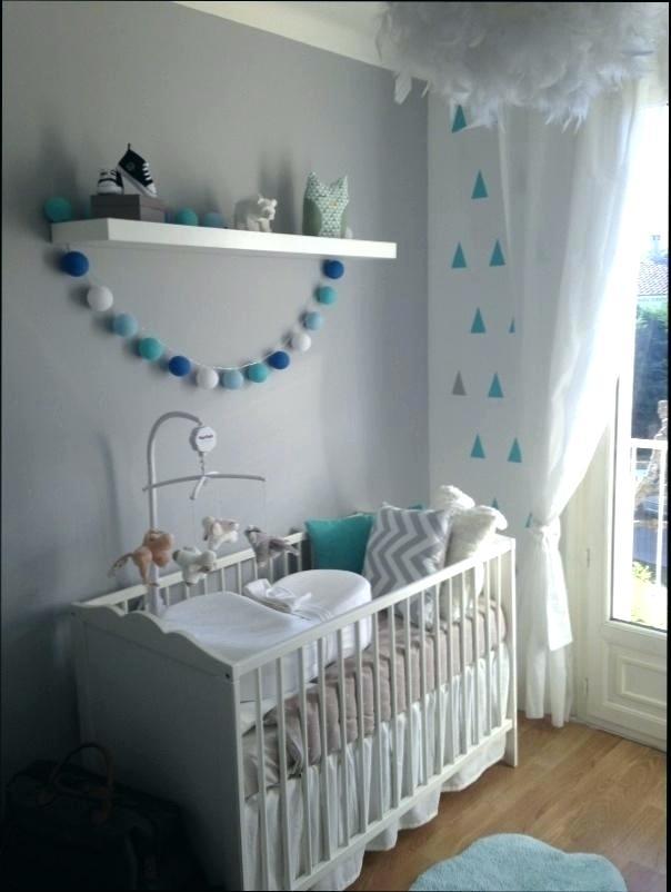 Beautiful Deco Chambre Bebe Garcon Bleu Et Gris Images - House ...