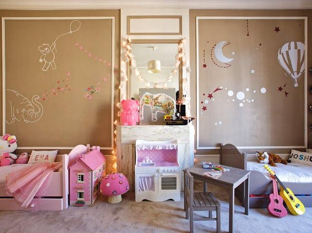 Decoration Chambre Bebe Fille Et Garcon Idees De Tricot Gratuit