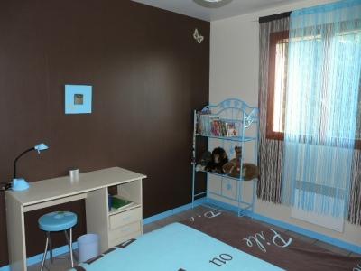 Chambre Marron Bleu - onestopcolorado.com -
