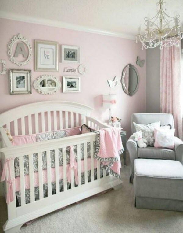Chambre bebe fille gris blanc - Idées de tricot gratuit