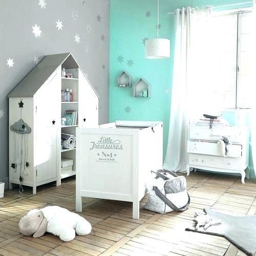 Chambre de bébé turquoise et gris - Idées de tricot gratuit