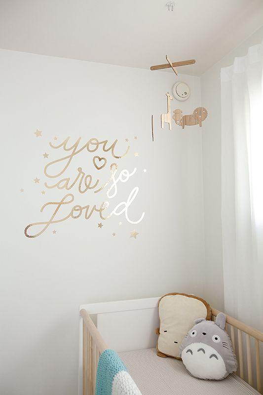 Stickers chambre bébé pastel - Idées de tricot gratuit