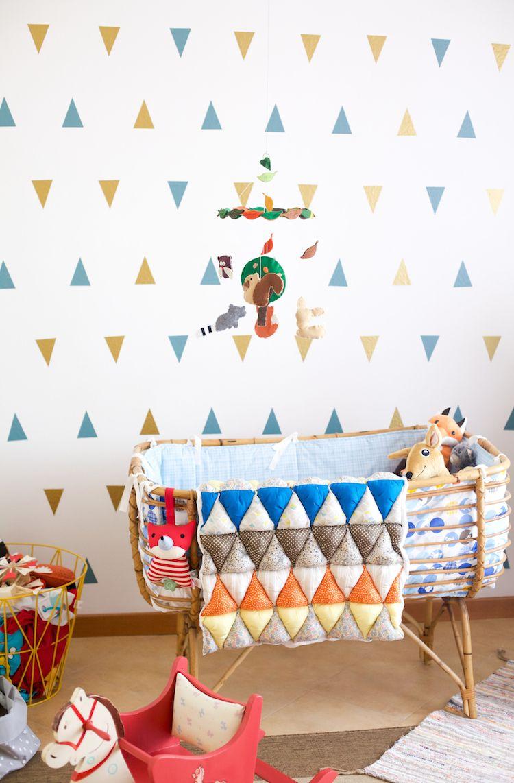 Papier peint chambre bébé fille castorama - Idées de tricot gratuit