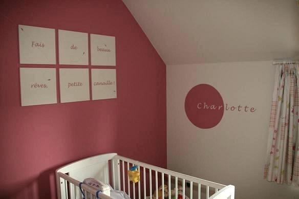 Idees peinture chambre bebe fille - Idées de tricot gratuit