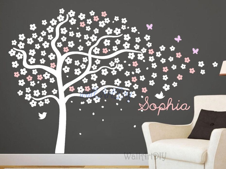 Best Stickers Arbre Blanc Chambre Bebe Images - House Design ...