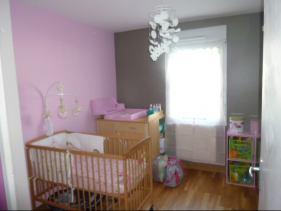 Chambre Bebe Taupe Rose