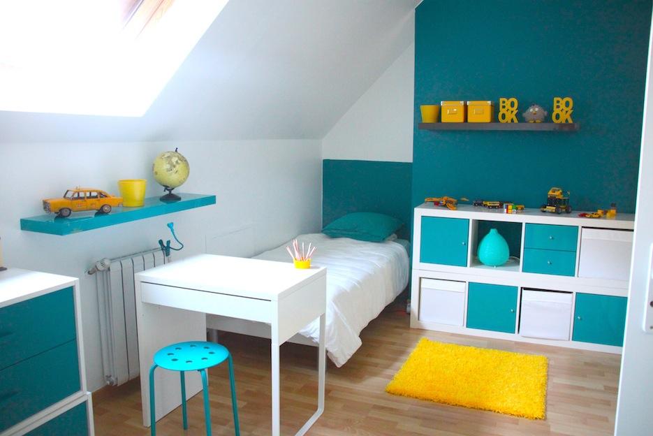 Chambre bébé jaune orange - Idées de tricot gratuit