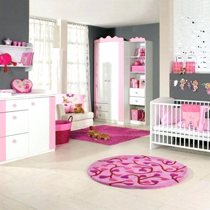 Peinture chambre b b fille rose id es de tricot gratuit - Chambre bebe peinture ...