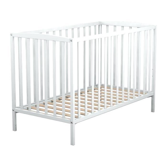 Cdiscount lit bebe blanc