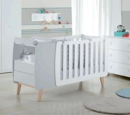 Lit bebe evolutif avec table langer id es de tricot gratuit - Lit bebe table a langer integree ...